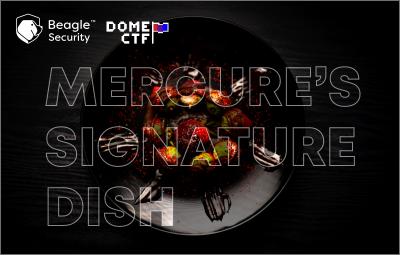 Mercure's Signature Dish Writeup